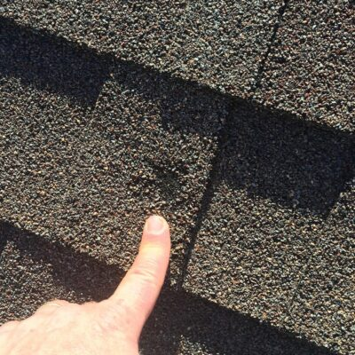 Hail Damage A&W Roofing Charlotte NC